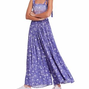 Free People Never Worn W/O Tag Periwinkle Jumpsuit